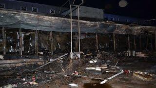 В Одессе пожар на рынке