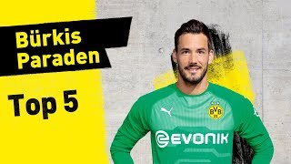 Roman Bürki | Top 5 Saves 2018/19