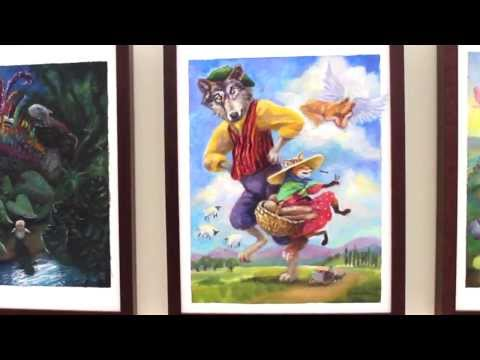 Latino Folk Tales: Cuentos Populares - Art by Latino Artists
