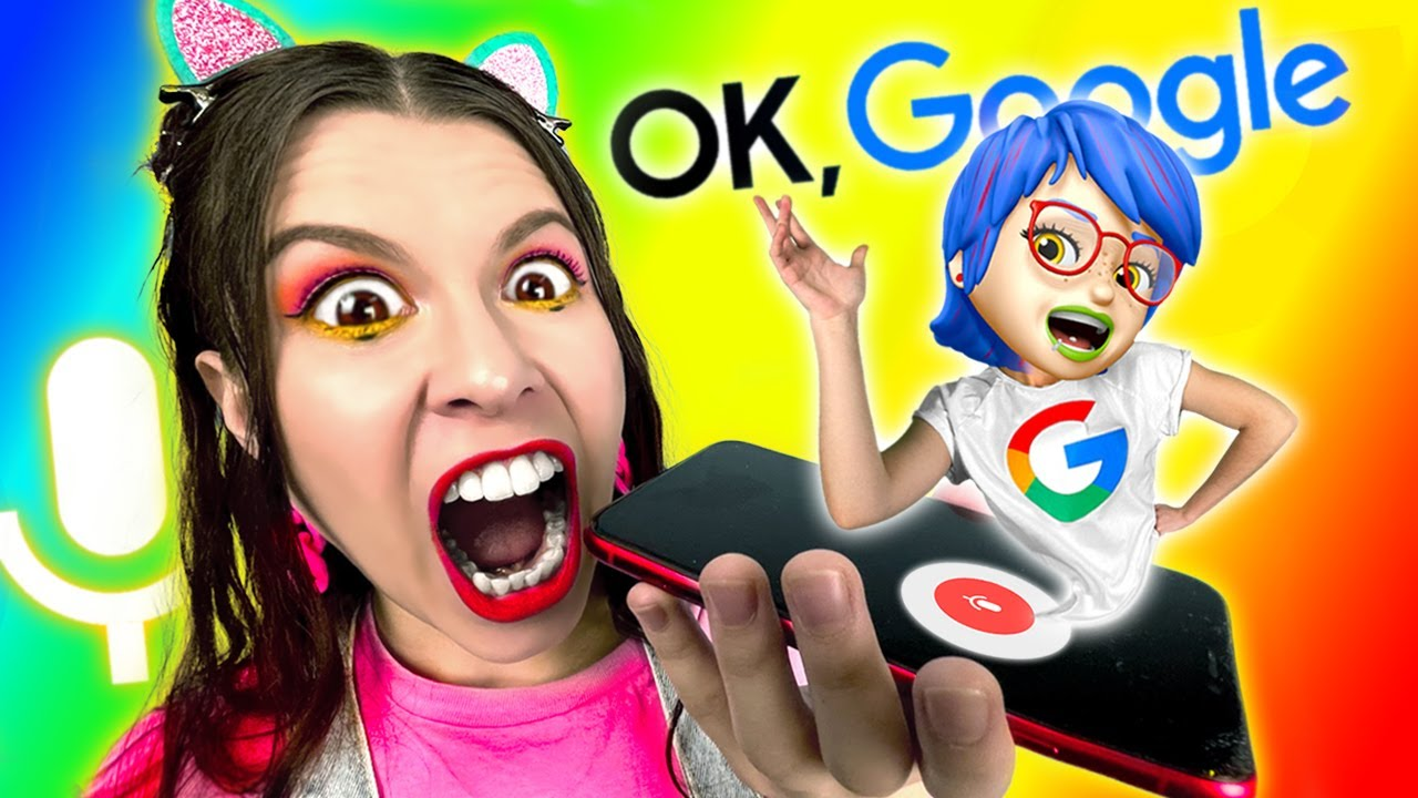 If GOOGLE was an ANIMOJI GIRL – Relatable musical by La La Life Emoji