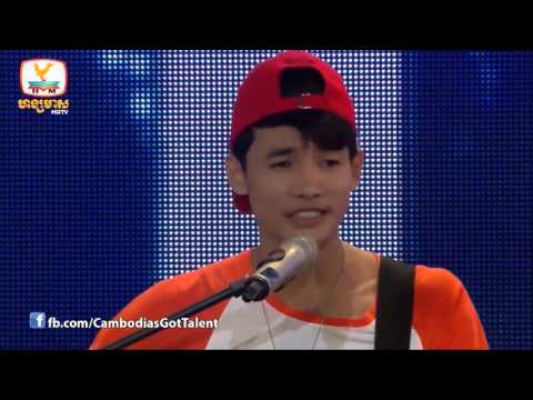 (3 YES) Judge Audition Cambodia's Got Talent - SOCHEAT CHEA
