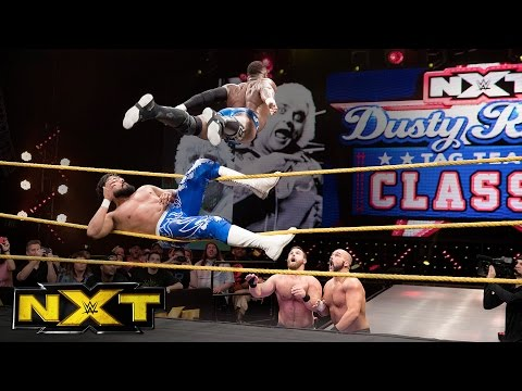 Almas & Alexander vs. The Revival  Dusty Rhodes Classic 1st Round Match: WWE NXT, Oct. 5, 2016