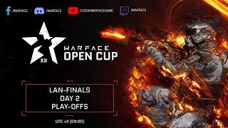 Warface Open Cup Season XII LAN Finals - Day 2