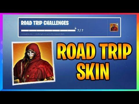 Season 5 Road Trip Skin Road Trip Challenges And Battle Star