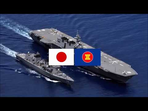 """""""South China Sea"""" Japan and ASEAN confirmed friendship and cooperation."""