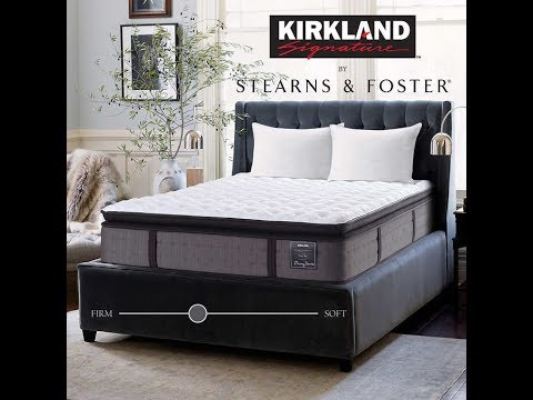 "Costco 2017 "" HOPE BAY "" Stearns & Foster mattress unboxing + review"