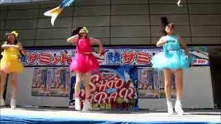 鳥取駅前のバード・ハットであった「鯖サミット」でのだいやぁ☆もんど(...