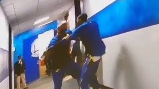 Kevin Durant Wrestles DeMarcus Cousins Before The Game!