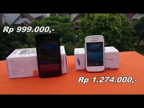 Smartfren Andromax G vs Samsung Galaxy Young (Indonesia)
