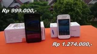 Smartfren Andromax G vs Samsung Galaxy Young (Indonesia)