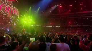 Shinsuke Nakamura's WrestleMania 34 entrance 10th row back!