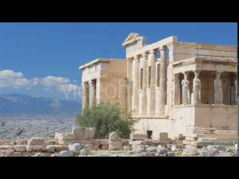 Travel View of Acropolis in Athens, Greece - Stock Footage | VideoHive 14519298