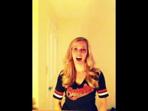 Carolyn Van Pelt - Orioles national anthem audition
