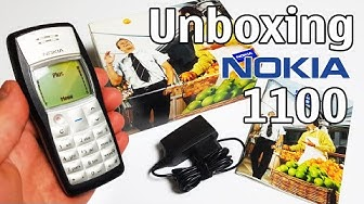 Nokia 1100 Unboxing 4K with all original accessories RH-18 review