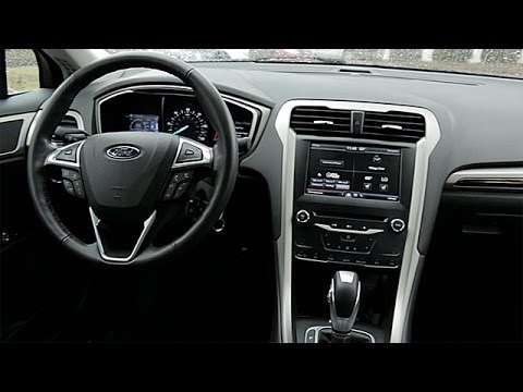 2014 Ford Fusion Hybrid Interior Review Youtube