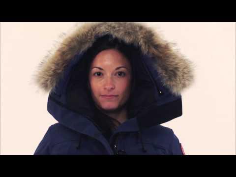 Canada Goose down online fake - Canada Goose Montebello Parka Spirit Style 2530L - YouTube