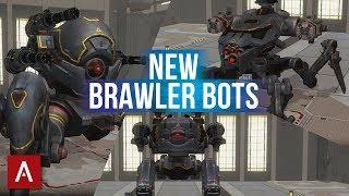 NEW Suppression Robots - INVADER, BLITZ, RAYKER Gameplay | War Robots Test Server 4.2