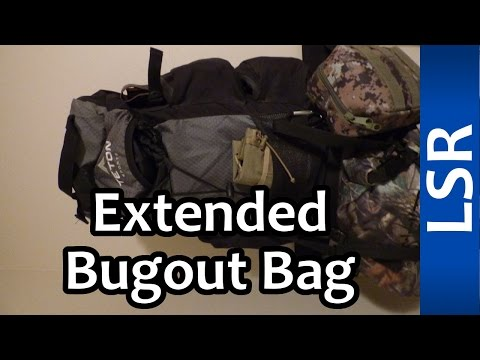 Extended Bugout Bag - Long Term Bugout Bag