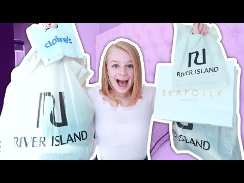 NO BUDGET Teen Clothes Haul! 🛍️ *River Island, Seafolly + more*