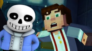 Minecraft Story Mode Moments with Undertale Songs