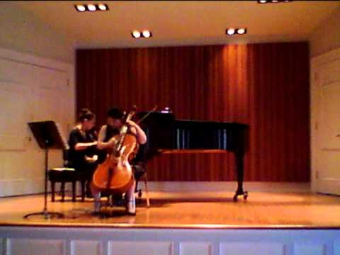 George Oakley Sonata for Cello and Piano