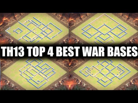 top-4-best-th13-war-base-link-for-cwl-with-link-|-anti-three-star-|-clash-of-clans-|-coc-india