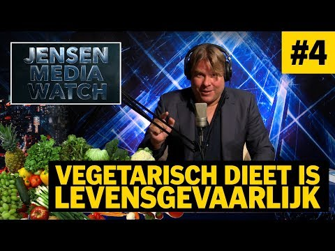 VEGETARISCH DIEET IS LEVENSGEVAARLIJK - DE JENSEN SHOW #4