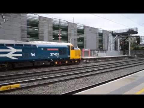 DRS 37401&37405 Depart Stafford Charter