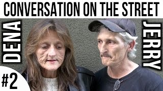 Dena & Jerry - Follow up conversation #2 on the street in the Tenderloin, San Francisco