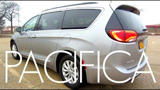 2017 Chrysler Pacifica Minivan | Full Rental Car Review and Test Drive