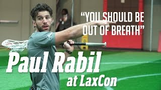 Paul Rabil Experience Shooting Tips: Fundamentals and Drills