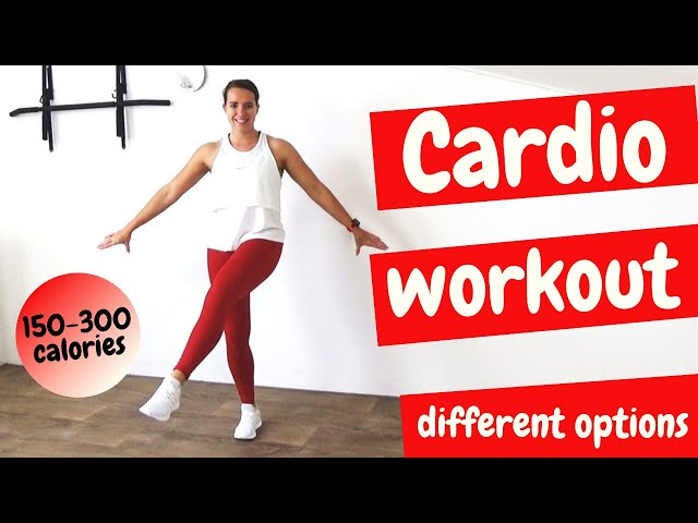 30 Minute Cardio Workout for Beginners and Intermediate – At Home Cardio Exercises – No Equipment