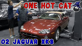 Post Purchase Inspection: The CAR WIZARD gets 2002 Jaguar XK8 in his shop. What does he find wrong?