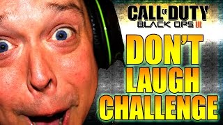 TRY NOT TO LAUGH WHILE WATCHING THIS! Black Ops 3 Zombies