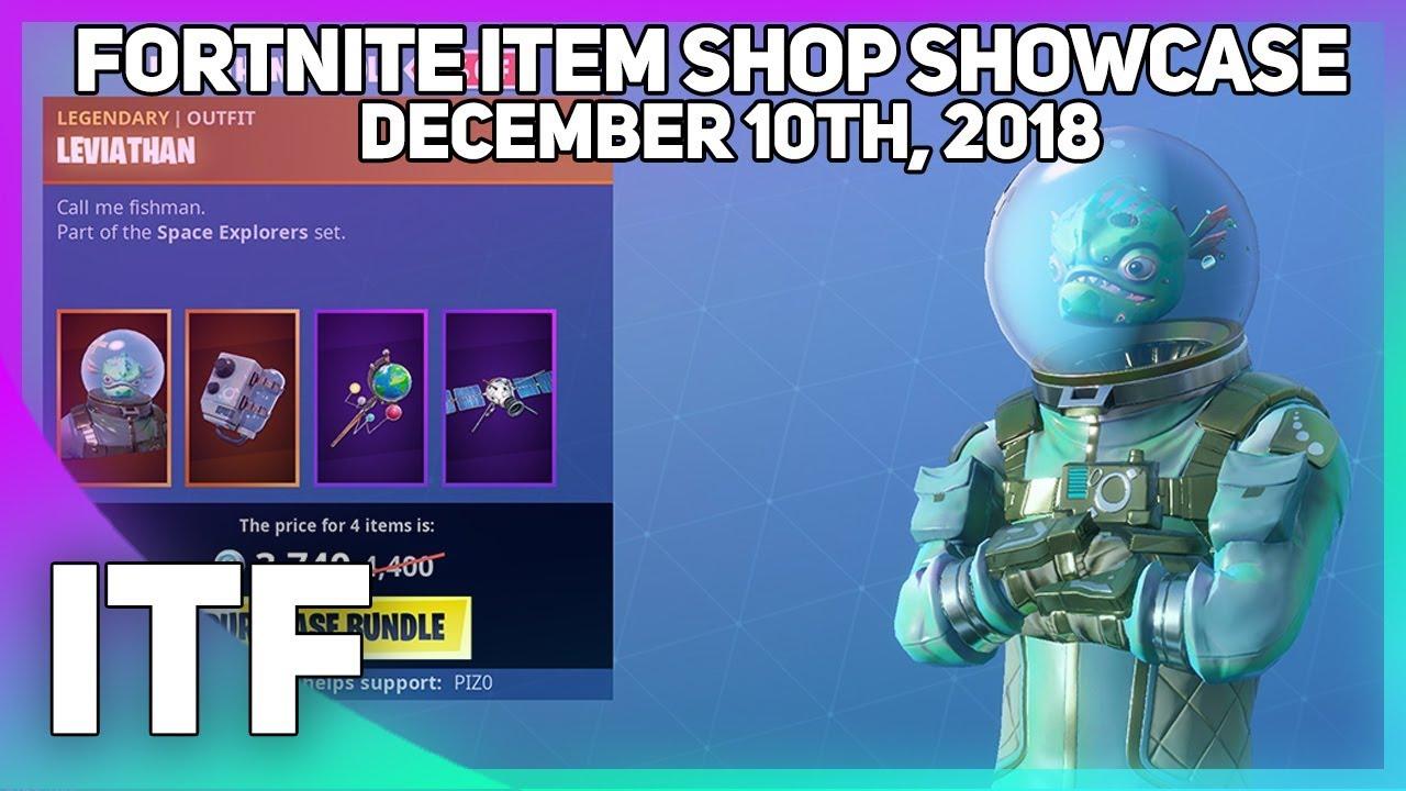 Fortnite Item Shop New Leviathan Bundle December 10th 2018