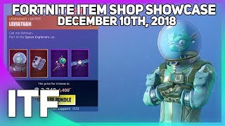 Fortnite Item Shop *NEW* LEVIATHAN BUNDLE! [December 10th, 2018] (Fortnite Battle Royale)