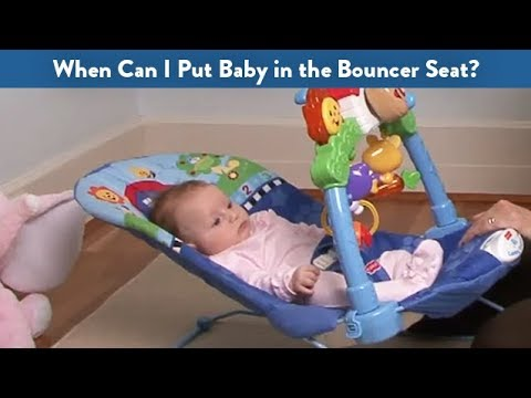 Swing Chair Baby Age Modern Tan Leather Dining When Can I Put In The Bouncer Seat Cloudmom Youtube