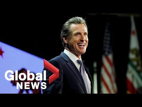 California Governor-Elect Gavin Newsom takes Oath of Office