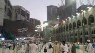 Crane collapse moment at Grand Mosque (Kabe) in Mecca | 11 09 2015