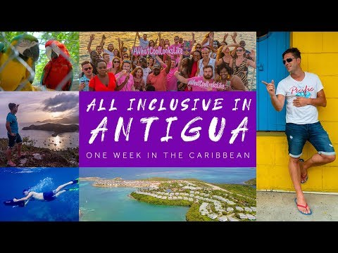 All Inclusive In Antigua | One Week In The Caribbean