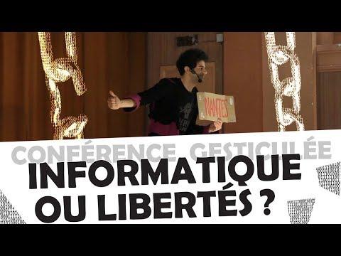 «Informatique ou libertés?» Lunar et al. (Conférence gesticulée)