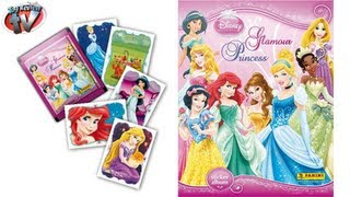 Disney Princess Glamour Princess Sticker Album Review, Panini