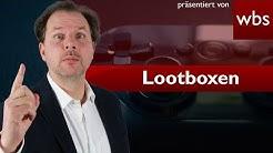 Lootboxen - Dürfen Games-Publisher wie EA DICE diese einbauen oder ist das illegales Glücksspiel?
