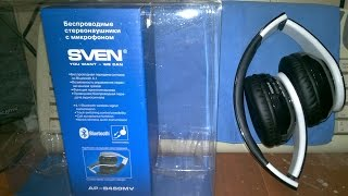 Стерео Bluetooth-навушники гарнітура Sven AP-B450MV - за 25$