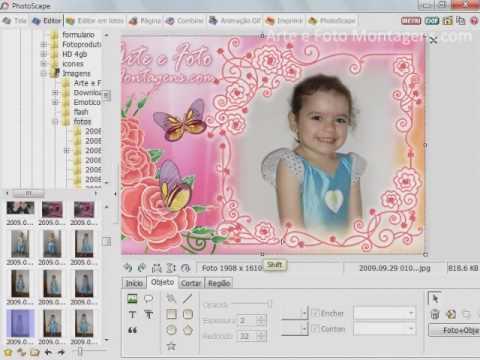 Recortando Imagens e deixando sem fundo no Photoscape.mp4 ...