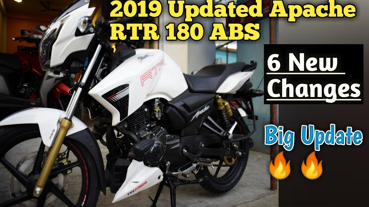 2019 Tvs Apache RTR 180 New Update || 6 New Changes || Negatives,Full  Review,Price, Mileage in Hindi