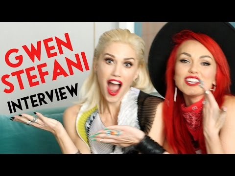 Gwen Stefani Interview, Makeup, Favorites & More