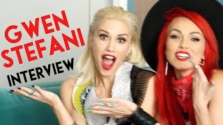 Gwen Stefani Interview, Makeup, Favorites & More