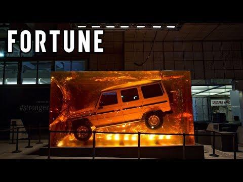 Mercedes-Benz's Resin-Encased 1979 280 GE I Fortune
