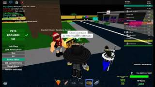 Playing music on an old account (ROBLOX)